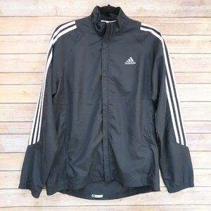 Adidas Men's Size S Full Zip Black Response Formot